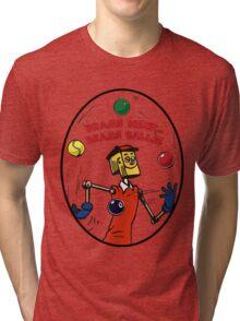 Brassneck - Brass Balls Tri-blend T-Shirt