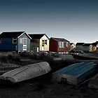 Out of Season (Mudeford) No.1 by David Robinson