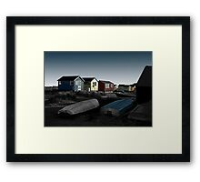 Out of Season (Mudeford) No.1 Framed Print