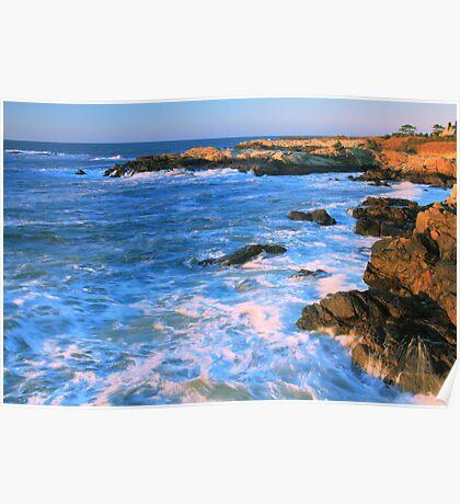 Lands End Seascape Poster
