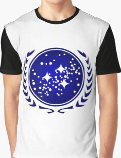 United Federation of Planets Logo Graphic T-Shirt