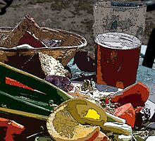 Sharing a Ploughman's Lunch by David Robinson