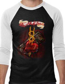 """""""The Killer of Love"""" Men's Baseball ¾ T-Shirt"""