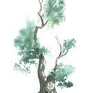 Little Zen Tree 662 by Sean Seal