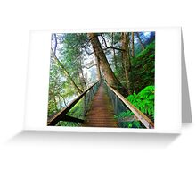 Fog Central II Greeting Card