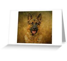Chance - German Shepherd Greeting Card