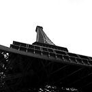 Eiffel tower by Kit4na