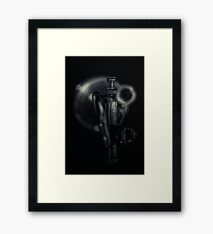 Dark Alley... Framed Print