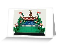Olympic Games 2012 MOC Number 1 Greeting Card