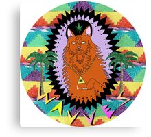 Wavves Full King of the Beach Canvas Print