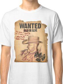 Cowboy Lance Hunter Wanted Classic T-Shirt