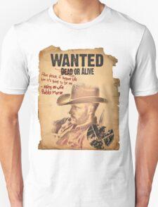 Cowboy Lance Hunter Wanted Unisex T-Shirt