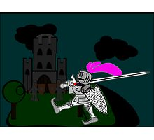 Good Knight Everyone Photographic Print