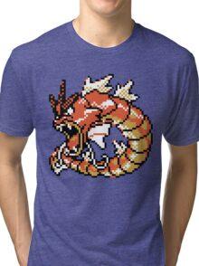 Red Gyarados Retro Tri-blend T-Shirt