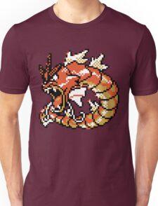Red Gyarados Retro Unisex T-Shirt