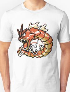 Red Gyarados Retro T-Shirt