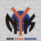 New york knicks basketball Custom Logo by Viral5
