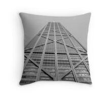 Hancock Building  Throw Pillow
