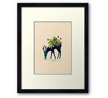 Watering - a life into itself Framed Print