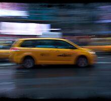 NYC Taxi by Benn Berrigan