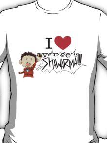 I love av... SHAWARMA (light) T-Shirt