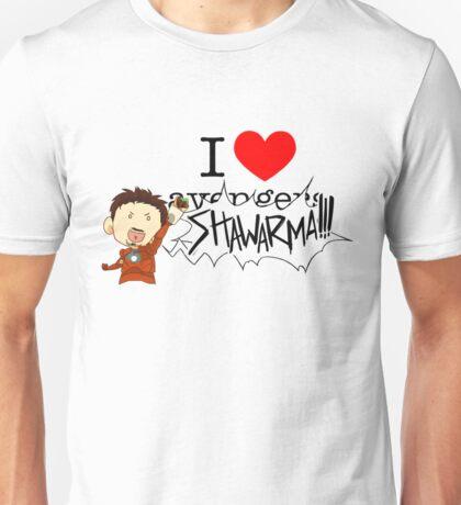 I love av... SHAWARMA (light) Unisex T-Shirt
