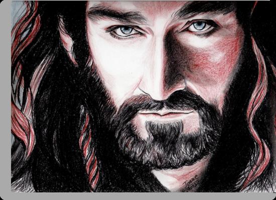 Richard Armitage, Thorin Oakenshield, sanguine by jos2507
