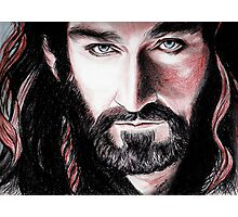 Richard Armitage, Thorin Oakenshield, sanguine Photographic Print