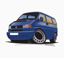 VW T4 Blue by Richard Yeomans