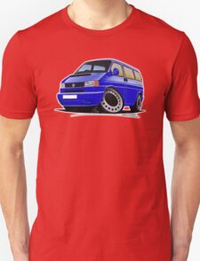VW T4 Blue T-Shirt