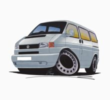 VW T4 Silver by Richard Yeomans