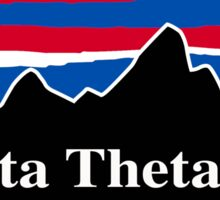 Beta Theta Pi Red White and Blue Sticker