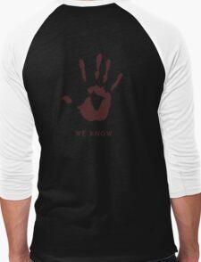 Dark brotherhood - We know Men's Baseball ¾ T-Shirt
