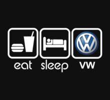 EAT SLEEP VW by mcdba