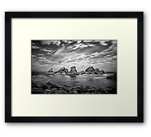 Mupe Bay Framed Print