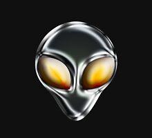 Metal Alien Head Unisex T-Shirt