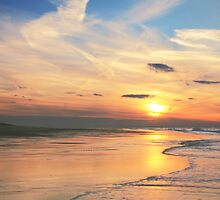 Race Point Beach at Sunset by Roupen  Baker