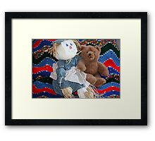 Ted's Tête-à-Tête With Haywire Hannah Framed Print