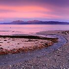 Arran from Scalpsie Bay, Bute by Simon Bowen