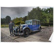 Rolls Royce 1934 20/25 Windovers Limousine (#GLB8) Poster