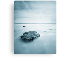 Silky Smooth Sea Metal Print