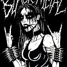 Black Metal Chick by MetalheadMerch