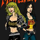 Thrash Metal Babes by MetalheadMerch