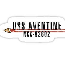 "Star Trek ""USS Aventine"" Insignia Sticker"