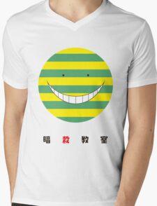 Koro Sensei Nameteru - Assassination Classroom Mens V-Neck T-Shirt