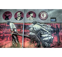 Dockers Mural - Belfast Photographic Print