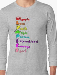 Olympic T-shirt Long Sleeve T-Shirt
