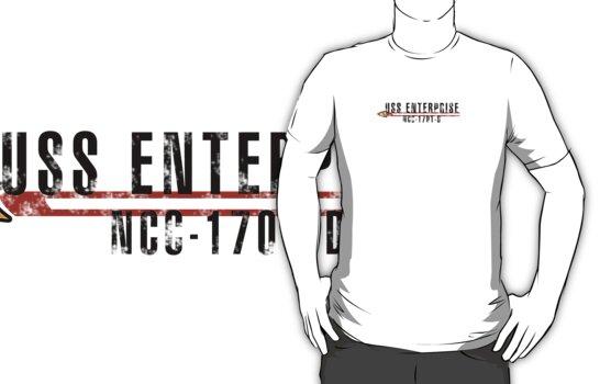 """Star Trek """"USS Enterprise  - D"""" Insignia by VolcanoWear"""