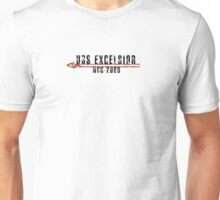 "Star Trek ""USS Excelsior"" Insignia Unisex T-Shirt"