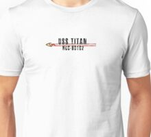 """Star Trek """"USS Titan"""" Insignia Unisex T-Shirt"""